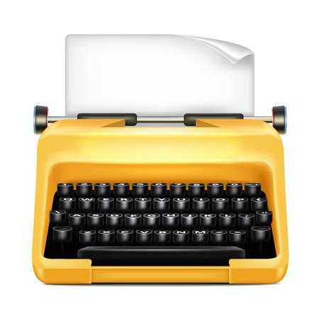 authorship: Typewriter