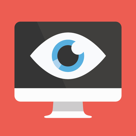 Vector Big Brother Icon Иллюстрация