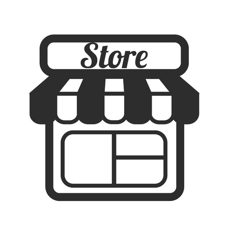 convenience store: Store Supermarket Vector Icons