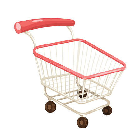 Vector Shopping Cart Illustration Illustration