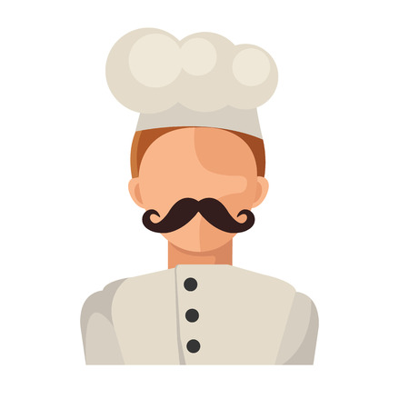 Vector Flat Chef Icon Vector