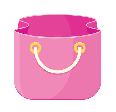 comerce: Vector Bag Icon  Illustration