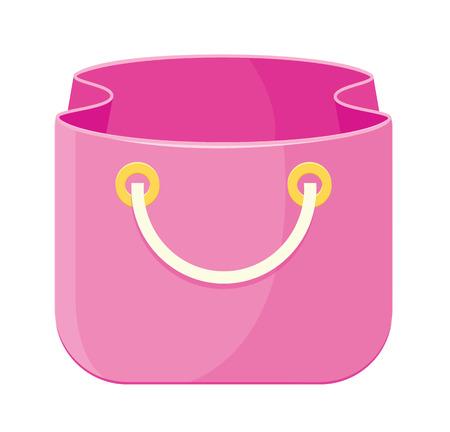 comerce: Vector Bag Icon  Illustration