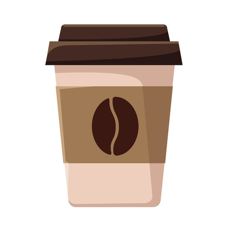 Vector Coffee Cup Flat Icon