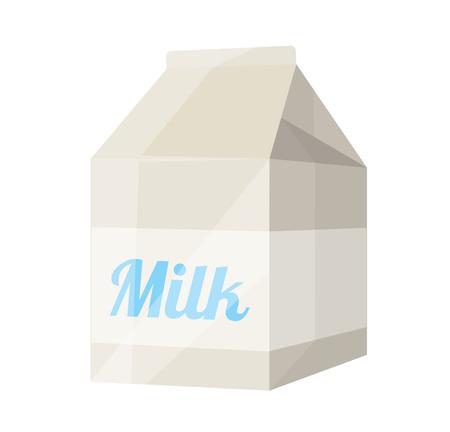 pinta: Vector Milk Package Flat Icon