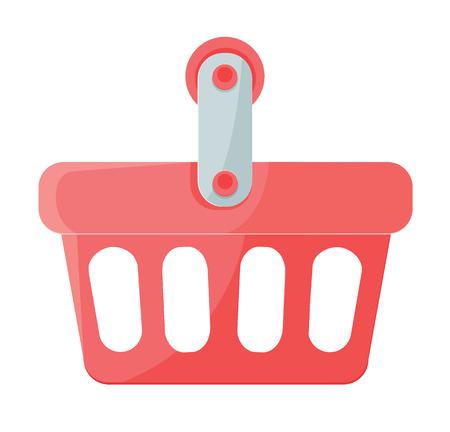 Vector Shopping Cart Flat Icon
