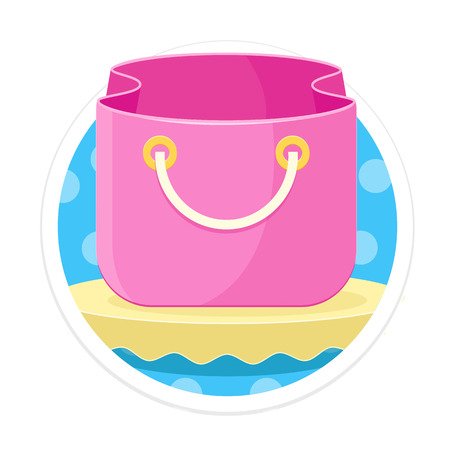 comerce: Bag Round Icon