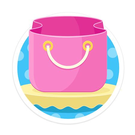 comerce: Bag Round Icon