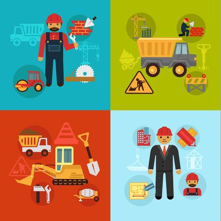 construction management: Vector ingegneria edile e concetto di gestione