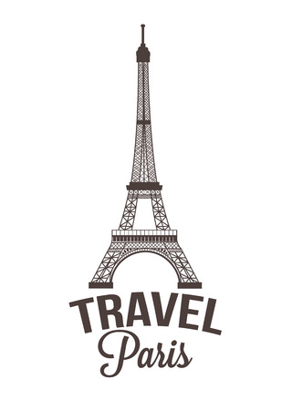 Paris vector illustration Stock Vector - 36159166