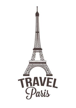 Paris vector illustration Illustration