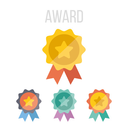 Vector award icons
