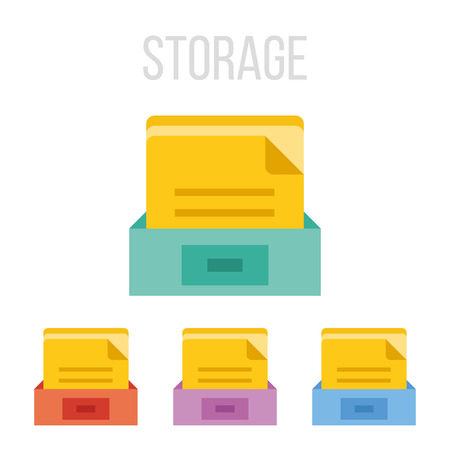 category: Vector file storage icons