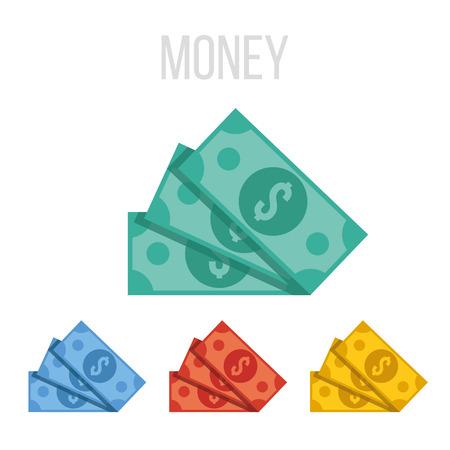 お金のベクトル アイコン