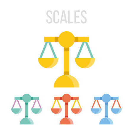 unbiased: Vector scales icons