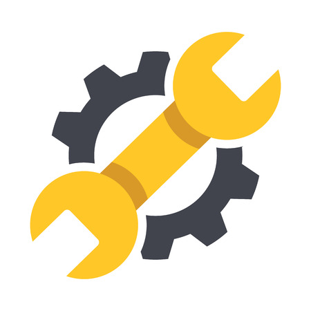 werkzeug: Reparatur-Symbol. Vektor-Illustration.