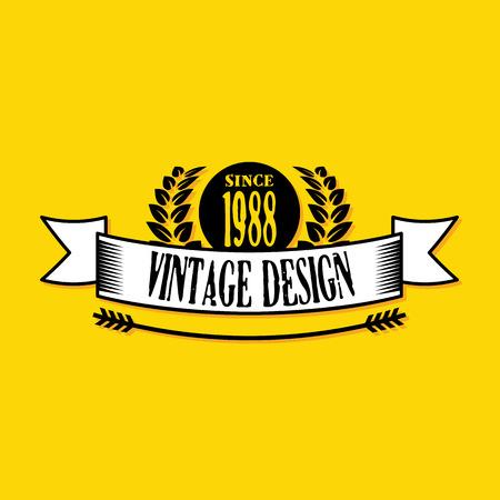 est: Vintage badge 2