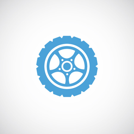 wheel rim: car wheel icon