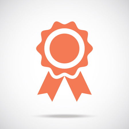 Award pictograph. Medal icon concept Vector