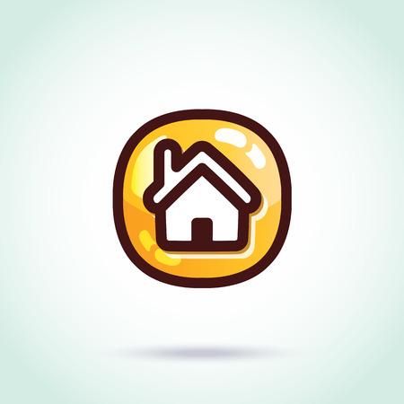 Vector home icon Vector