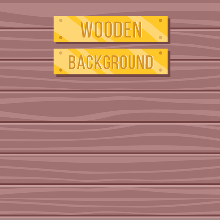 rosewood: Vector flat wooden background, wood texture