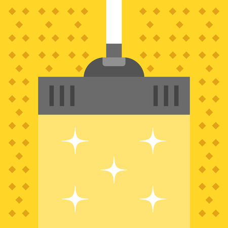 carpet cleaning service design: Vacuum carpet. Cleaning concept. Modern flat design vector illustration