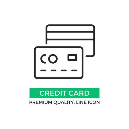 Vector Credit Card Icon Premium Quality Graphic Design Element