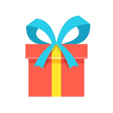 Gift box icon.  イラスト・ベクター素材