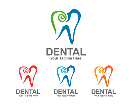 dental clinic: Dental Logo template. Dentist Logo vector. Symbol of Dental Clinic . Illustration