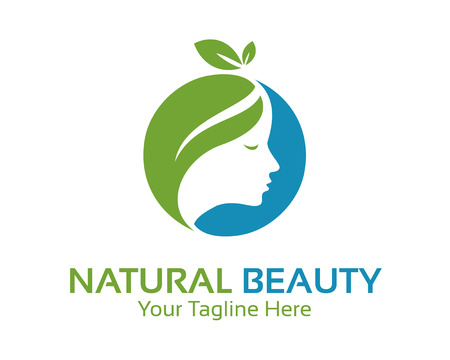 healthcare and beauty: Natural beauty logo design vector. Spa and treatment logo design template. Healthcare design vector. Beauty salon logo .