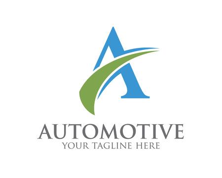 logo: Kinh doanh của công ty thư Một thiết kế logo mẫu. Đơn giản và sạch sẽ thiết kế phẳng của chữ A vector biểu mẫu. Thư Một logo cho doanh nghiệp. Hình minh hoạ