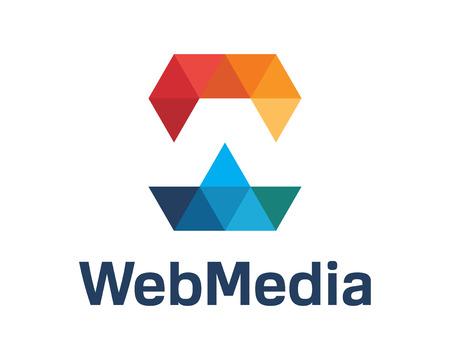 Business corporate letter W logo design vector.