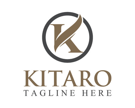Business corporate Buchstaben K-Logo-Design Vektor.