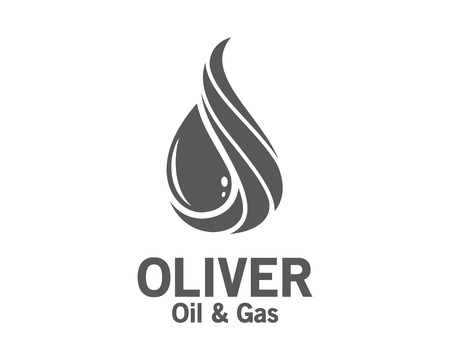 oil and gas industry: 3D oil and gas logo design. Colorful 3D oil and gas logo vector template. oil and gas concept with 3D style design vector. Illustration
