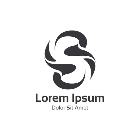 Business corporate letter S logo design vector. Colorful 3D letter S logo vector template. Letter S logo for technology.