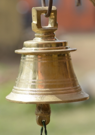Temple Bell Closeup