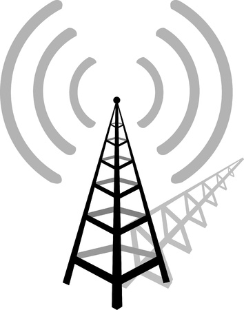 omroep: Draadloze communicatie toren