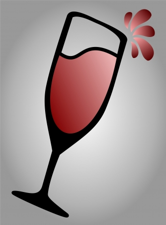 Wine  Alcohol Icon Vector