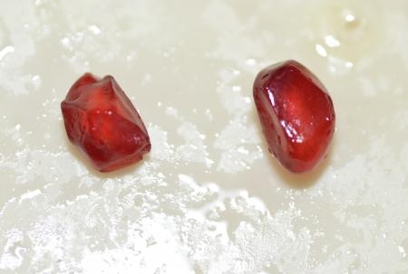 석류 씨앗 배경 스톡 사진