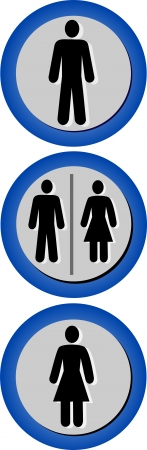 Restroom  Bathroom Icon Set