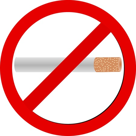 No Smoking Sign Stock Vector - 19455958