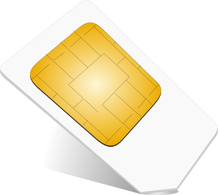 Sim Card Stock Vector - 19456010