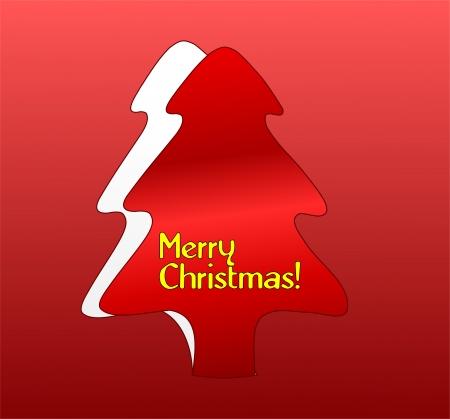 크리스마스 인사말 카드 일러스트