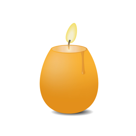 easter candle: Easter candle in the shape of egg.