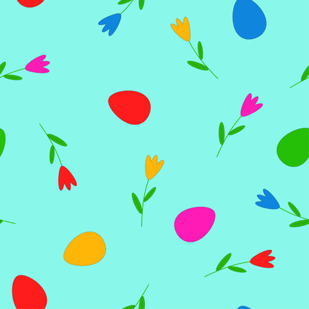 Seamless pattern Easter. illustration.
