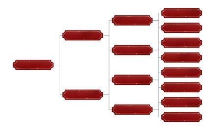 Scheda con un bordo d'oro su uno sfondo bianco. Albero genealogico. Illustrazione vettoriale piatta Archivio Fotografico - 79700078