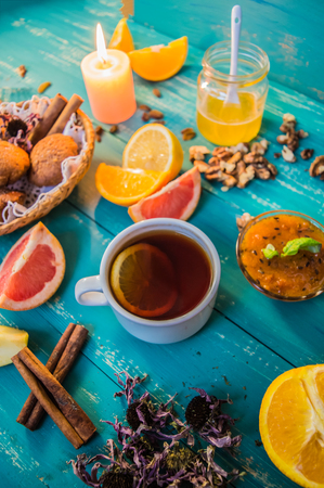 echinacea: A fabulous and very sweet breakfast consisting of muffins, fresh fruit and the remaining spices.
