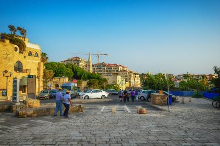 Old port buildings in Yafo- Tel Aviv, Israel. Фото со стока - 123306587