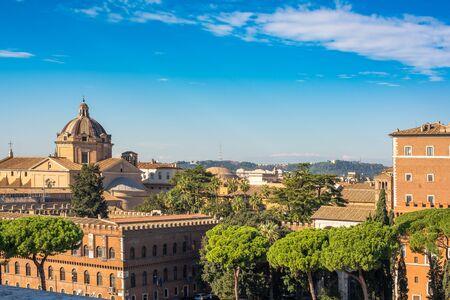 Piazza Venezia, view from Vittorio Emanuele II Monument, Rome