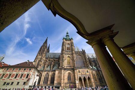 Prague Czech Republic. St. Vitus Cathedral